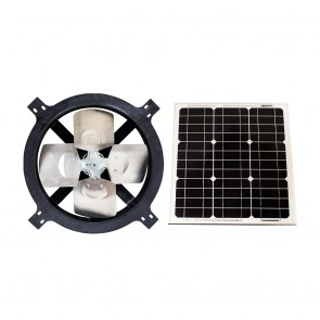 25 Watt Solar Gable Fan