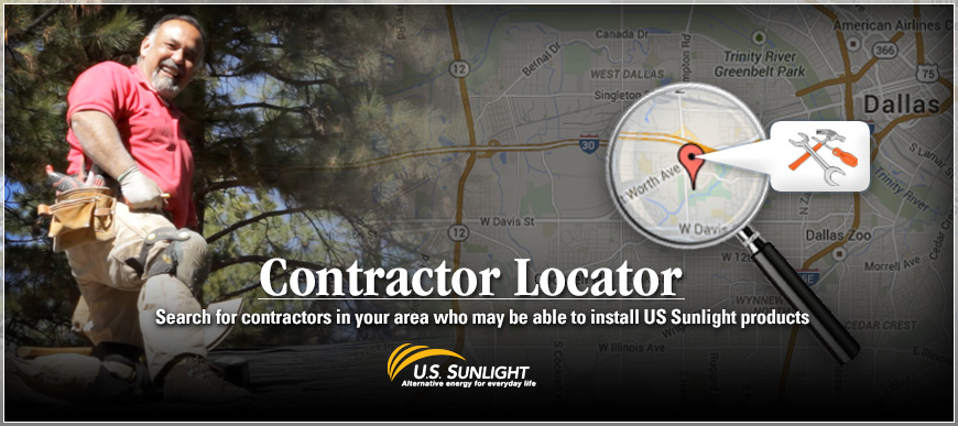 US Sunlight Contractor Locator