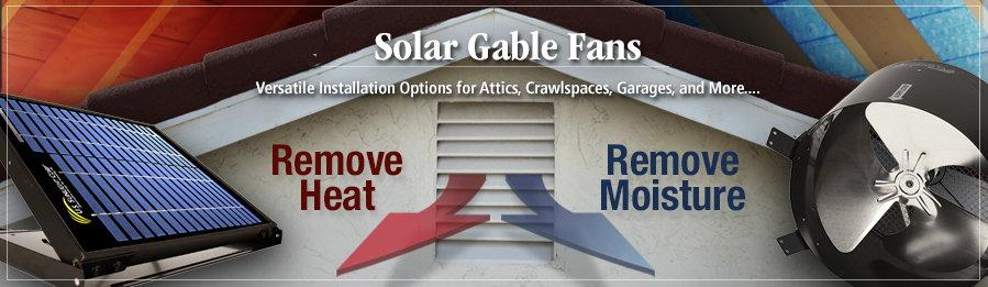 Solar Gable Vents